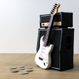 Official Amp and Iconic Guitar Money Box