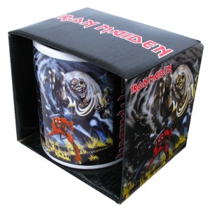 Official Iron Maiden Boxed Mug - Number of the Beast