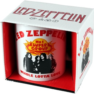 Official Led Zeppelin Boxed Mug - Whole Lotta Love