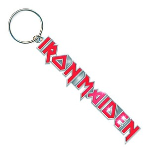 Official Iron Maiden Logo with Tails Key Ring