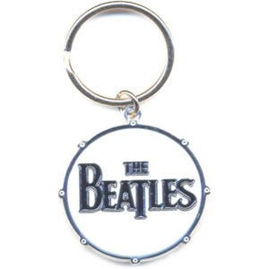 Official Beatles Drum Logo Key Ring