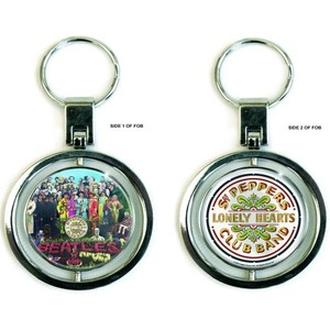 Official Beatles Spinning Sgt Pepper Key Ring