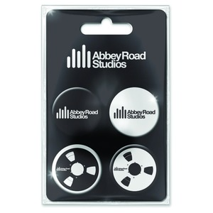 Official Abbey Road Studios Badge Set - Set of 4