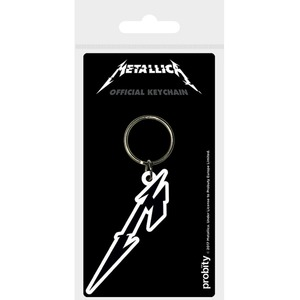 Official Metallica M Logo Key Ring