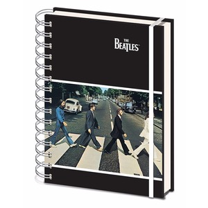 Official Beatles A5 Notebook - Abbey Road