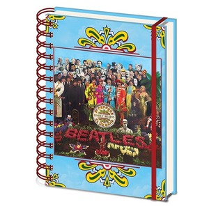 Official Beatles A5 Notebook - Sgt Peppers
