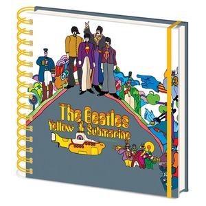 Official Beatles Square Notebook - Yellow Submarine