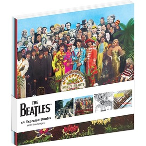 Official Beatles A6 Exercise Books - Set of 4