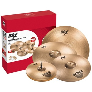 "Sabian B8X Performance Set With Free 18"" Crash"
