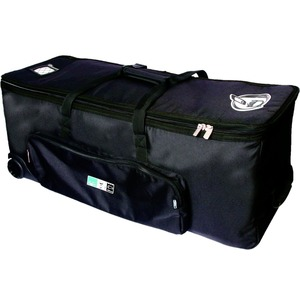 Protection Racket Hardware Case + Wheels and Pull Up Handle  - 28""