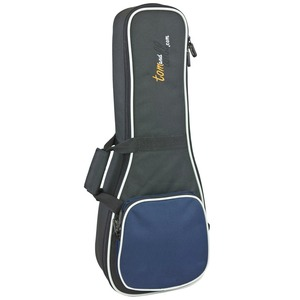 Tom & Will Ukulele Gig Bag 20mm - Concert - Black / Navy Blue