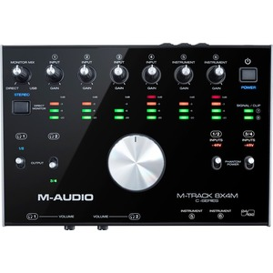 M-audio M-Track 8X4M 8-In/4-Out USB Audio Interface with MIDI