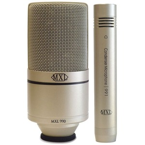 Mxl 990/991 - Vocal / Instrument Condenser Mic Pack