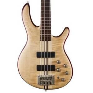 Cort A4 Plus FMMH 4-String Bass - Open Pore Natural