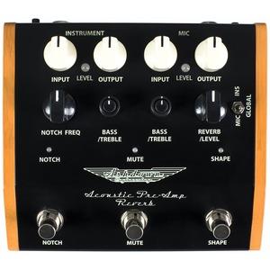 Ashdown Acoustic Preamp Reverb Pedal