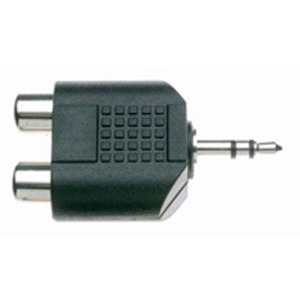 Stagg 2 Female RCA - Stereo Mini Jack 2 Pack