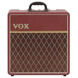 Vox Limited Edition AC4C1-12 Guitar Combo - Maroon Bronco