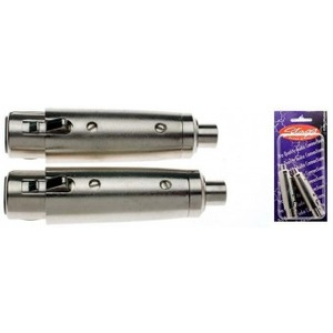 Stagg Female XLR - Female RCA Adaptor - 2 Pack