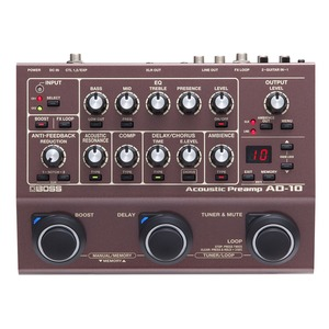 Boss AD10 Acoustic Preamp Pedal