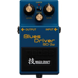 Boss BD-2w Blues Driver Pedal - Waza Craft Series