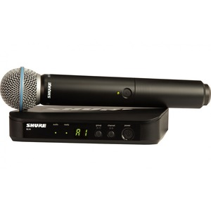 Shure BLX24/B58 Handheld Wireless Microphone System