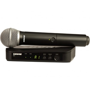 Shure BLX24/PG58 Handheld Wireless Microphone System