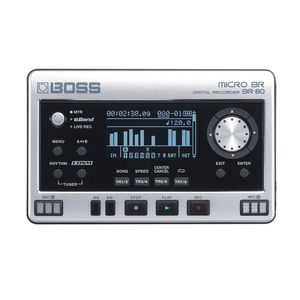 Boss Micro BR80 8 Track Digital Recorder