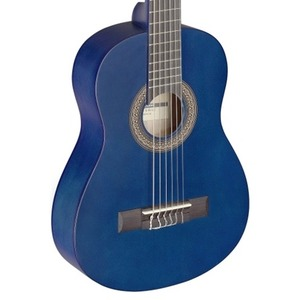 Stagg Classical Guitar - 3/4 Size - Matt Blue