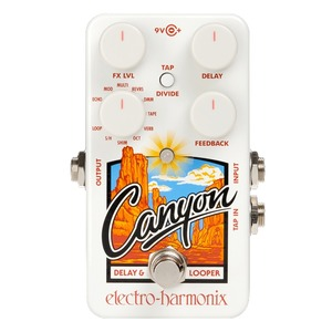 Electro Harmonix Canyon - Delay and Looper Pedal