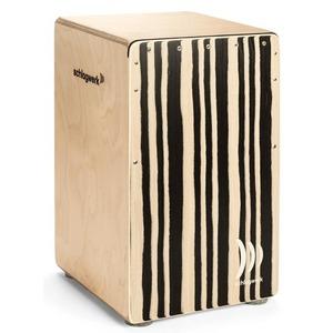 Schlagwerk CP560ST Agile Pro 'Soft Touch' Cajon - Zebra