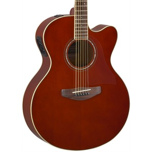 Yamaha CPX600 Electro Acoustic Guitar - Root Beer