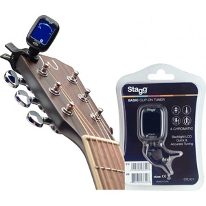 Stagg Clip On Tuner