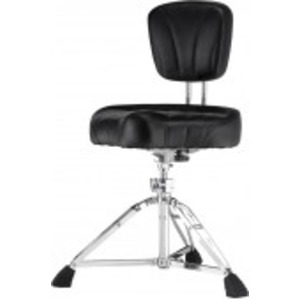 Pearl D-2500BR Drum Stool - Motorcycle Seat with Backrest