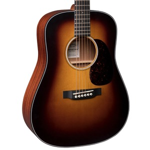 Martin Dreadnought Junior Electro Acoustic Guitar - Sunburst