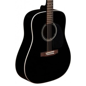 Sigma DM1ST-BK+ Dreadnought Acoustic Guitar
