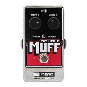 Electro Harmonix Double Muff - Fuzz/Overdrive Pedal