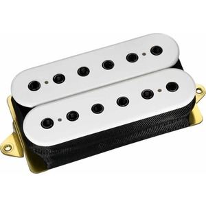 Dimarzio DP151 PAF Pro - F Spacing - White With Black Poles