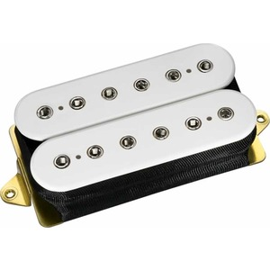 Dimarzio DP151 PAF Pro - F SPACED - White With Nickel Poles