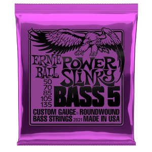 Ernie Ball Power Slinky 55 - 135 - BASS 5 STRING