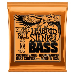 Ernie Ball Hybrid Slinky Bass Guitar Strings