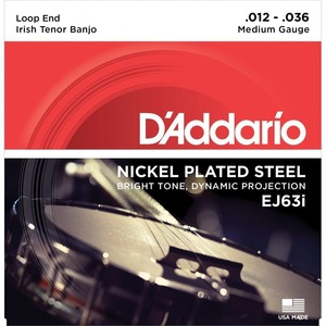 D'addario Banjo Nickel 4 String Tenor
