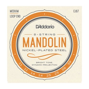 D'addario Mandolin Medium Nickel
