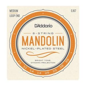 D'addario Mandolin Medium Nickel