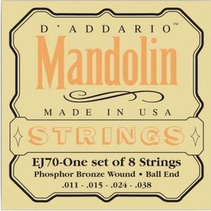 D'addario EJ70 Mandolin Strings