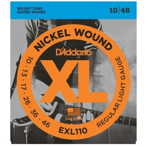 D'addario EXL110 Electric Guitar Strings - 10-46