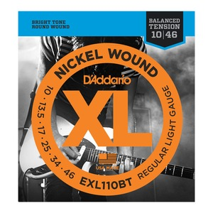 D'addario EXL110BT Electric Balanced Tension Reg Light 10-46