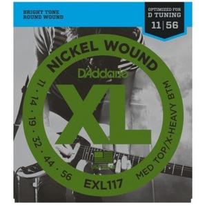 D'addario EXL117 Electric Guitar Strings - 11-56