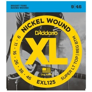 D'addario EXL125 Electric Guitar Strings - 9-46
