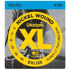 D'addario EXL125 Electric Guitar Strings - 9-46