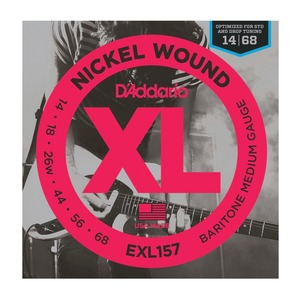 D'addario EXL157 BARITONE XL Medium - 14-68